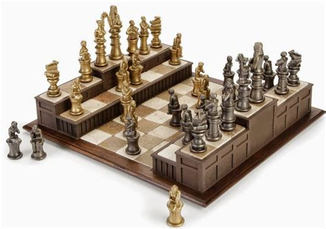 amazing chess sets 15 awesome and coolest chess sets part 4