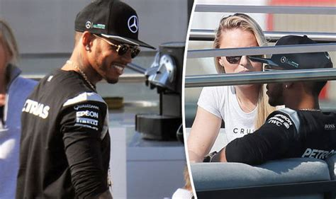 lewis hamilton shares pics of lewis hamilton shares cosy chat with vonn after