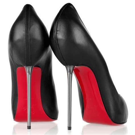 sheep skin peep toe platform pumps black high heel shoes