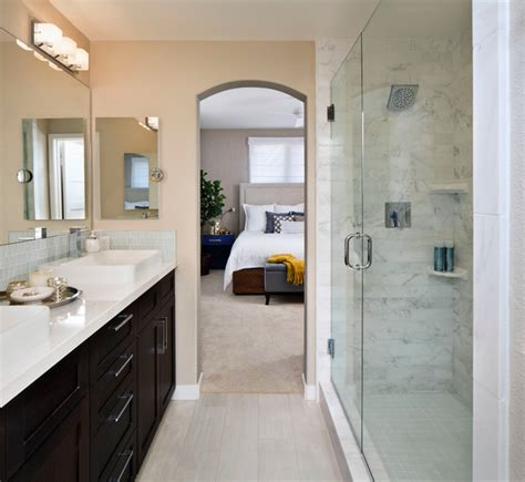 master bathroom transitional bathroom san diego by