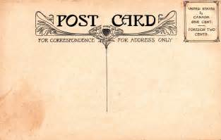 vintage postcard template vintage postal charm mehker