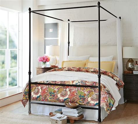 Pottery Barn Canopy Bed Antonia Canopy Bed Pottery Barn