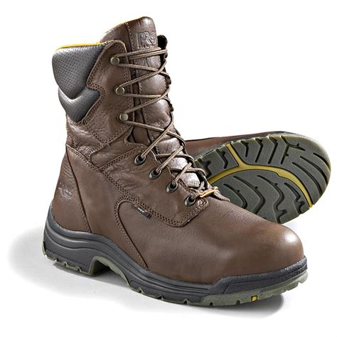 safety toe boots 8 quot timberland pro 174 titan 174 waterproof safety toe boots