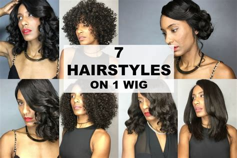 Wedding Hairstyles With Lace Wigs by 7 Hairstyles On A Curly Lace Front Wig