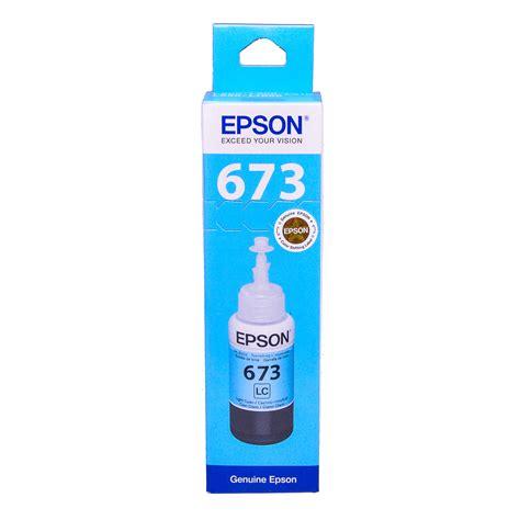 epson t6735 light cyan original dye ink refill replaces