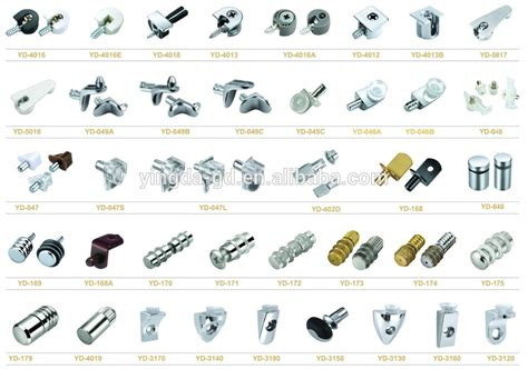 Where To Buy Kitchen Cabinet Hardware Stainless Steel Sign Suppor Glass Fastening Screws Glass