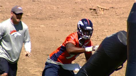 demarcus ware bench press miller wants to be like ware chris harris warns wide
