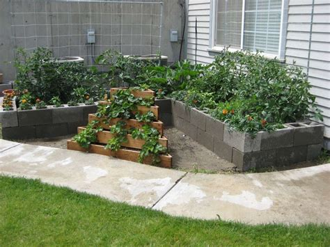 Garden Blocks by Cinder Block Garden Ideas Quotes