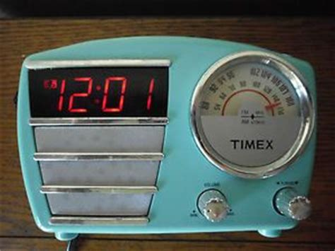 us basic am fm retro clock radio phone electronics on popscreen