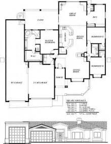 Garage Floor Plans With Living Quarters Sunset Homes Of Arizona Home Floor Plans Custom Home