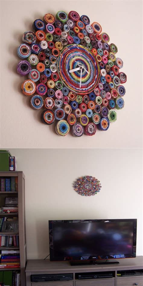ideas to make your home beautiful 21 amazing and amazing diy wall clock ideas that will make your home