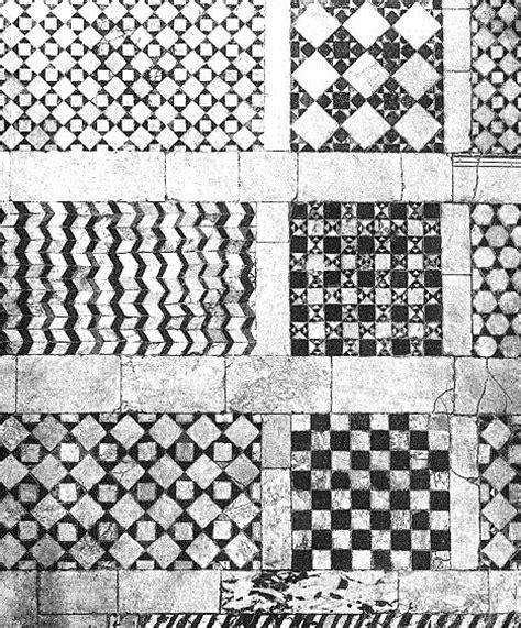 cornici medievali storia dell arte medievale pavimenti musivi figurati di