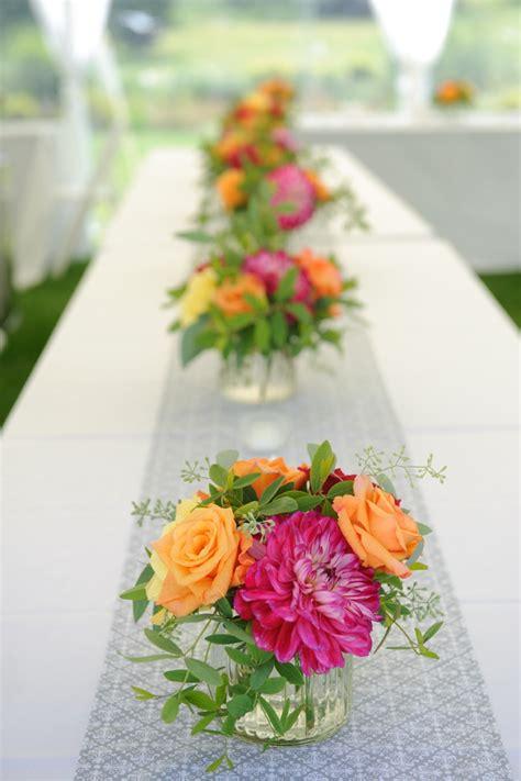 Summer Centerpieces by Summer Flower Summer Flower Centerpieces