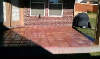 Backyard Covered Patios Outdoor Patio Saltillo Tile Mediterranean Patio