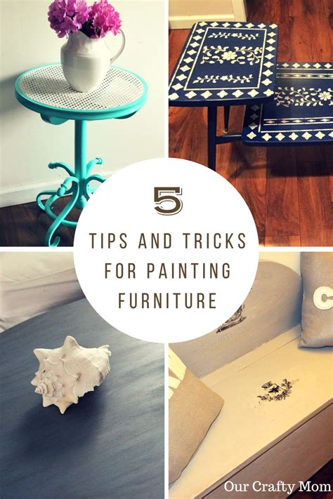 furniture tips and tricks 5 easy tips and tricks for painting furniture our crafty mom