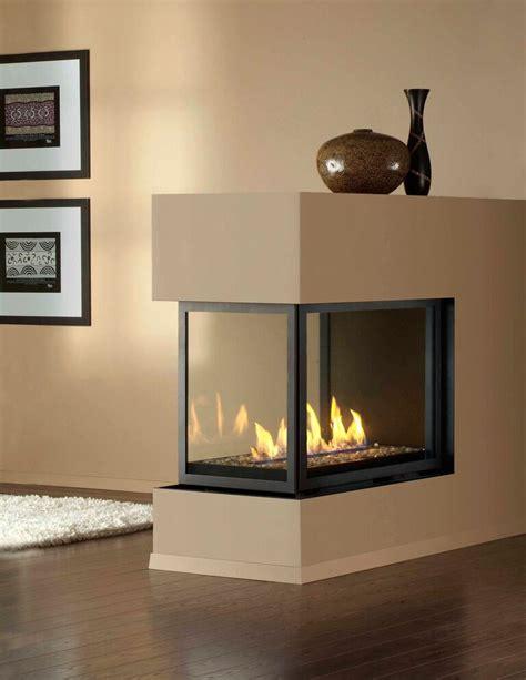 sided fireplaces montigo gas fireplace h series peninsula hp38df pfc and