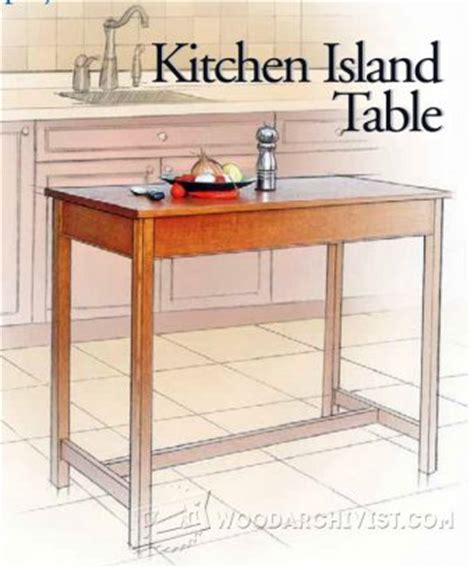 kitchen island table plans wooden spice rack plans woodarchivist