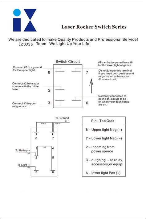 5 pin rocker switch wiring diagram 34 wiring diagram