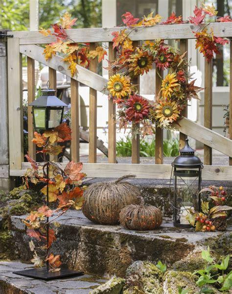Herbstliche Deko Garten by Dekorieren Im Herbst 45 Herbstliche Ideen F 252 R Drau 223 En