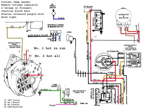 1970 chevelle alternator wiring diagram new wiring