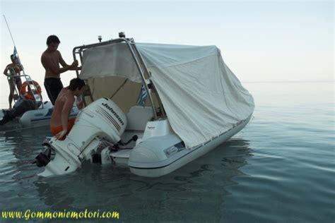 tenda per gommone tendalino per gommone fai da te la cura dello yacht