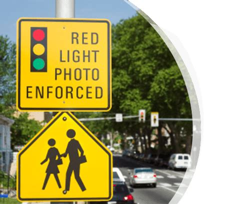 light photo enforced light violations locations