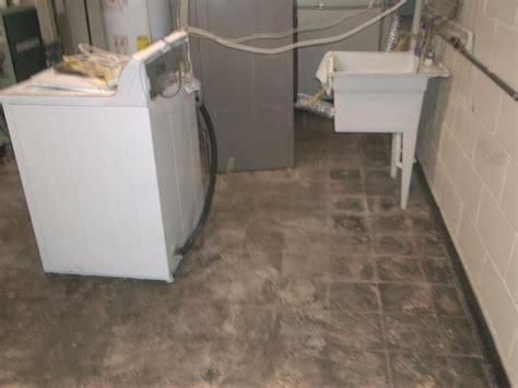 Waterproof Basement Flooring Baker S Waterproofing Basement Waterproofing Photo Album Waterproof Basement Floor Tiles In