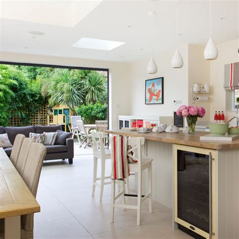 open plan neutral kitchen kitchen diners housetohome co uk open plan shaker style kitchen ideal home