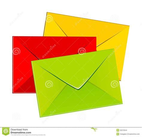 colorful envelopes colorful envelopes stock images image 22072944