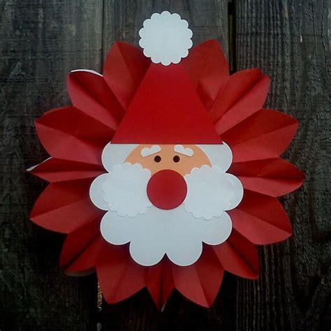 santa claus paper craft santa claus crafts for