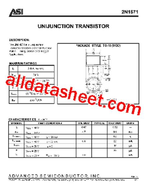 transistor datasheet software 2n2646 ujt datasheet pdfdownload free software programs backupauthentic