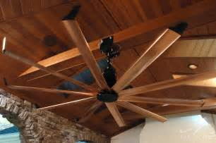large outdoor ceiling fans pavilion