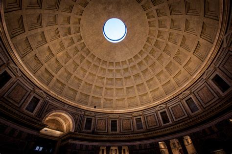 Blueprints For Cabins the pantheon rome 126 ad monolithic dome institute