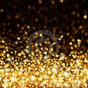 golden christmas lights background royalty free stock