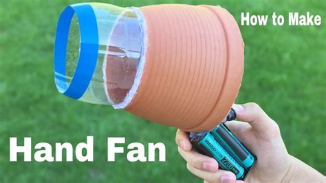 how to make a hand fan how to make a big hand fan air blower easy to build