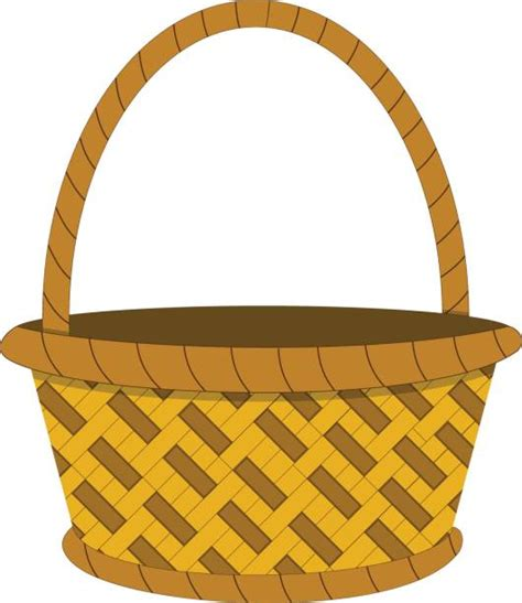 clipart basket wicker basket clipart clipground