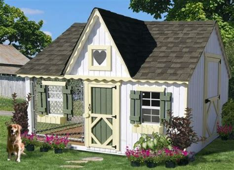 cozy cottage kennel doghouse luxuo luxury
