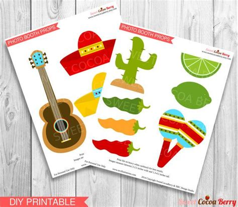 free printable photo booth props mexican fiesta photo booth props printable mexican fiesta props