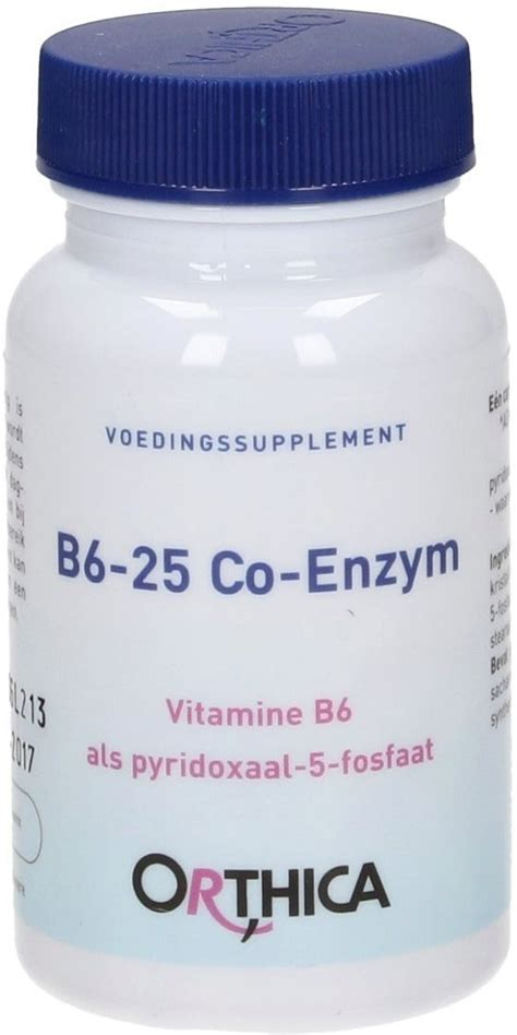 Forneuro Multivitamin 3 In 1 6 Kapsul co enzyme b6 25 60 capsules orthica vitalabo shop europe