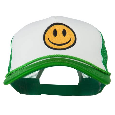 Synatria Shop Trucker Smilley Hat smiley embroidered big size trucker cap w43s43e hats