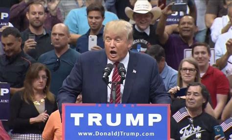fort worth rally donald trump you people are suffering trump laments illegal