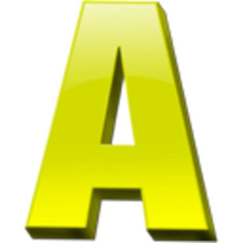 letter a clipart letter a icon 1 free images at clker vector clip