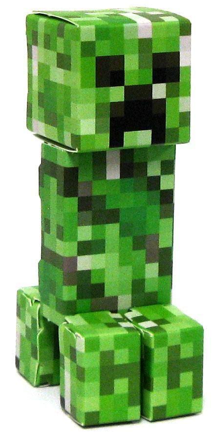 Minecraft Creeper Papercraft - minecraft creeper papercraft single jazwares toywiz