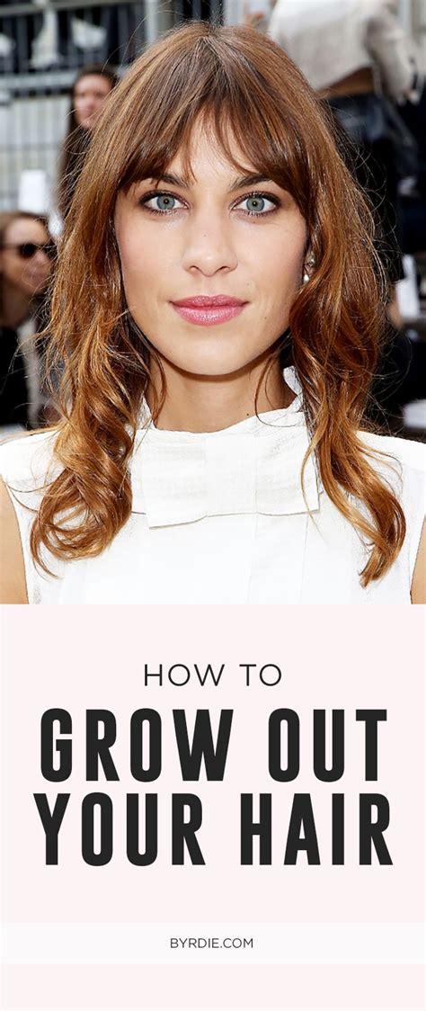 in between haircuts for growing out hair growing out your hair here s how to avoid the awkward