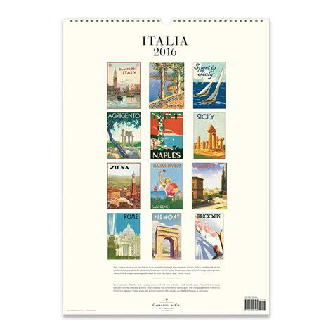 Cavallini Calendars Cavallini Papers 2016 Wall Calendar Italia 13 X 19 Eco