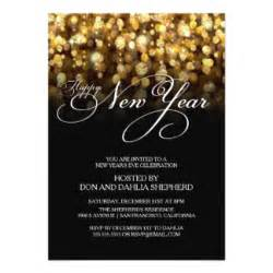 happy new year invitation new years invitations announcements zazzle