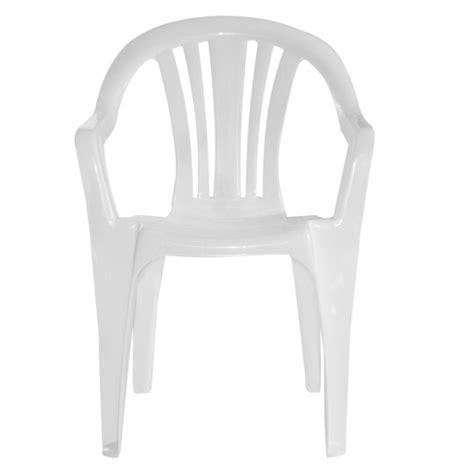juego  sillas de plastico blancas natal  garden life