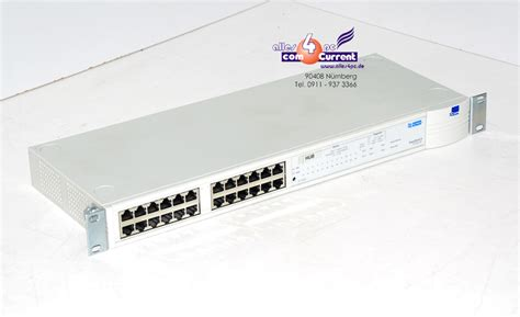 Switch Hub 24 Port 3com 3com stack 2 hub 3c16406 24 port netzwerkswitch lan