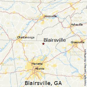 best places to live in blairsville
