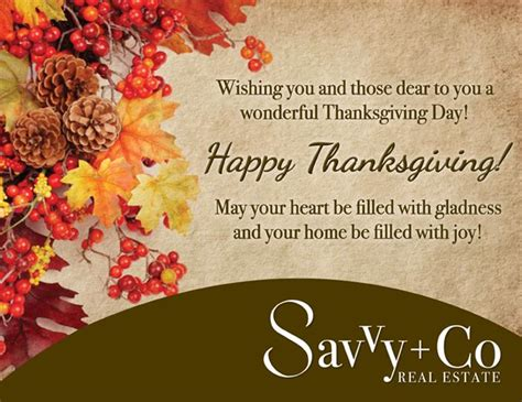 Thanksgiving Greeting Cards For Business